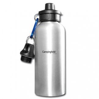 """Trinkflasche """"Campingheld"""", Alu"""