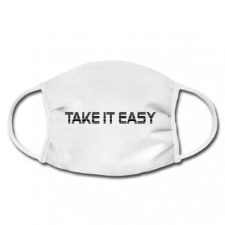 "Gesichtsmaske ""Take it easy"", Nase-Mund-Schutz"