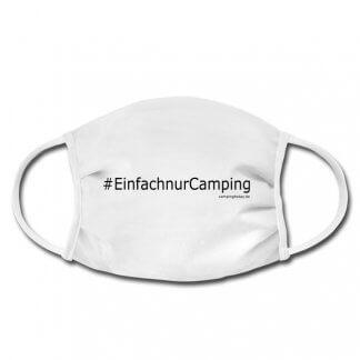 """Gesichtsmaske """"Einfach nur Camping"""", Nase-Mund-Schutz"""