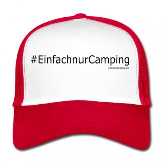 """Trucker Cap """"Einfach nur Camping"""""""