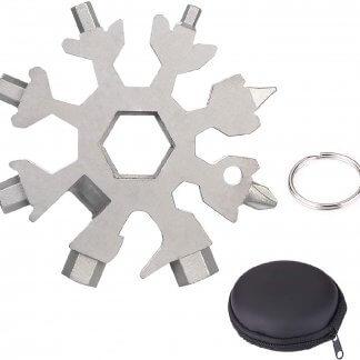 18-in-1 Edelstahl Multitool / Werkzeug, silber